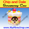 Feature Item : Chip Strawberry Cake By TOMY -- US Series 1 Nutty Wear Edition $0.99